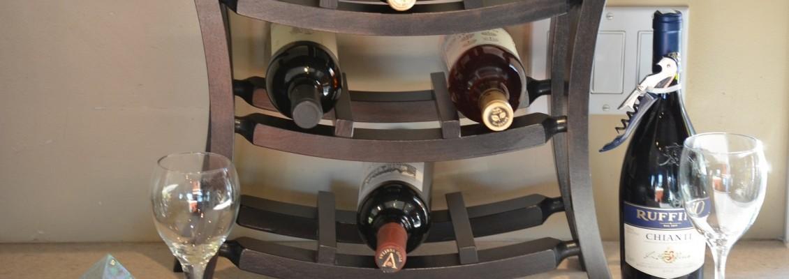 Support à bouteille de vin