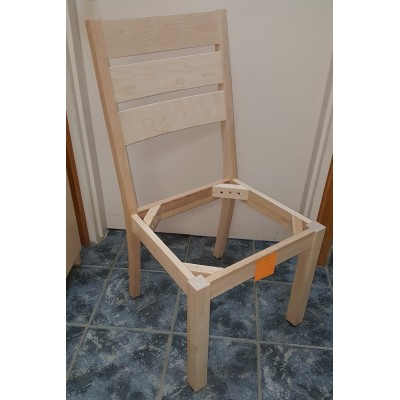 Chair in wood (yellow birch) #502